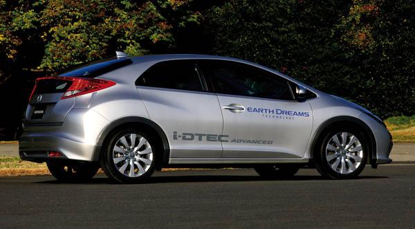 Honda, debutta nella Civic il nuovo motore 1.6 i-DTEC