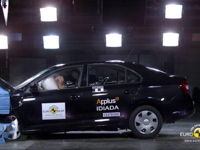 ŠKODA Rapid, 5 stelle Euro NCAP
