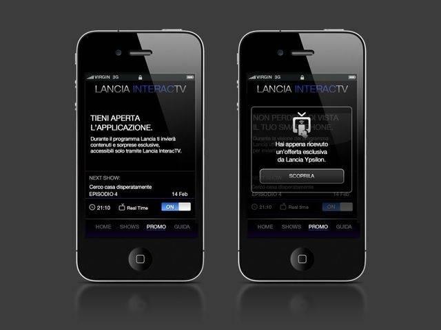 Lancia InteracTV: nasce l'applicazione che premia chi guarda la TV
