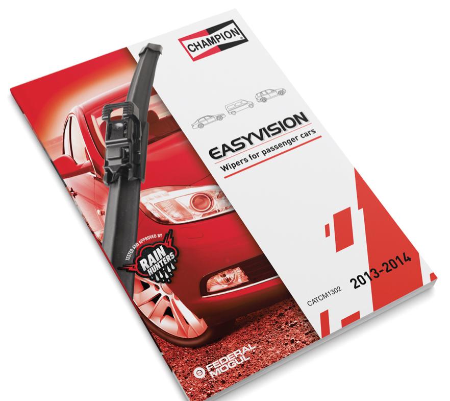 Federal-Mogul rivoluziona il mondo delle spazzole tergicristallo Nasce la nuova Champion Easyvision