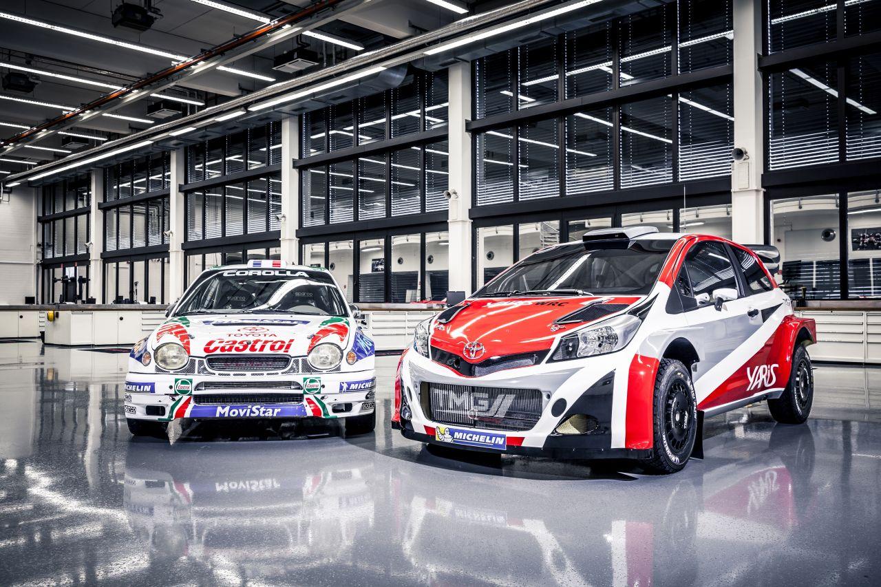 Toyota e i rally