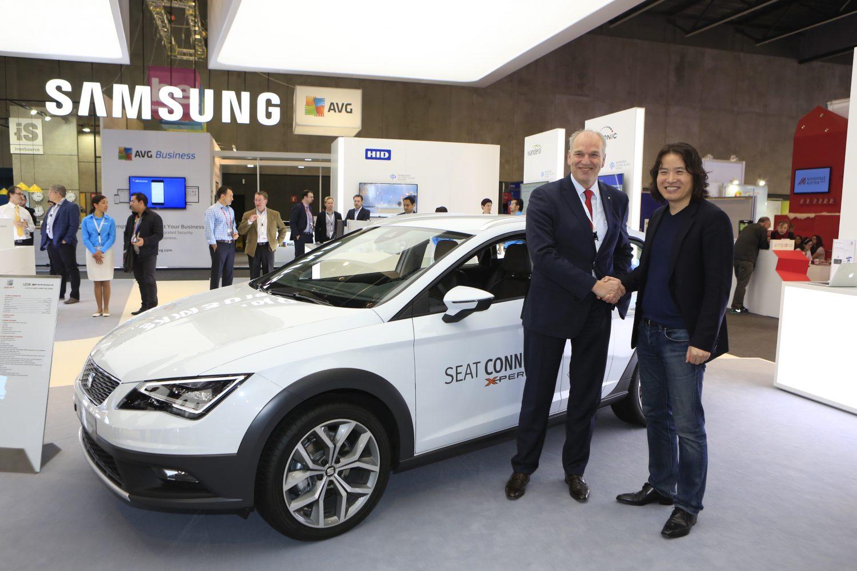 Accordo Samsung e Seat