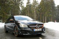 Mercedes-Benz CLA45 AMG Shooting Brake: Via la cravatta