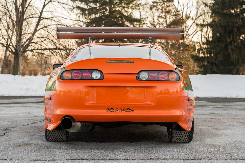 Paul Walker Toyota Supra