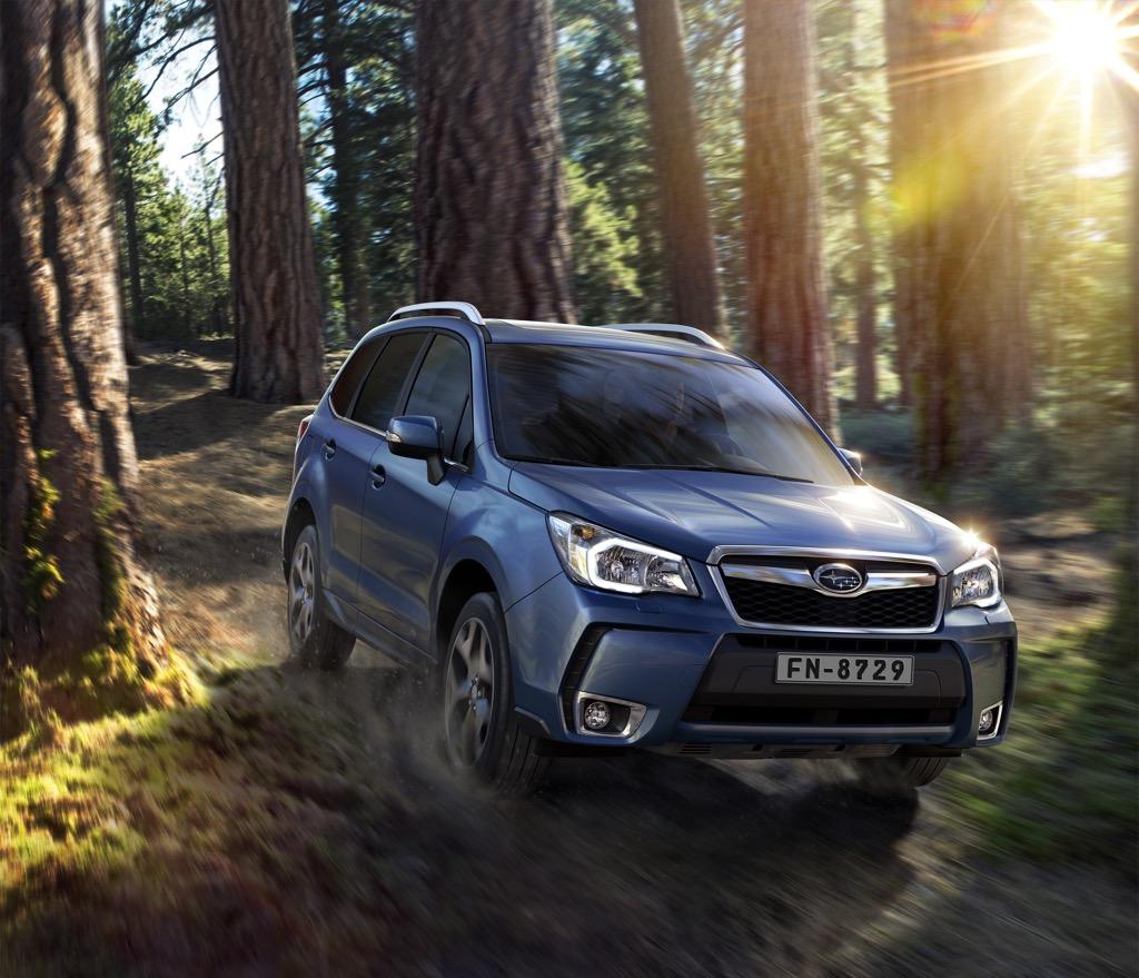 Subaru Forester Lineartronic Diesel: Trasmissione in diretta