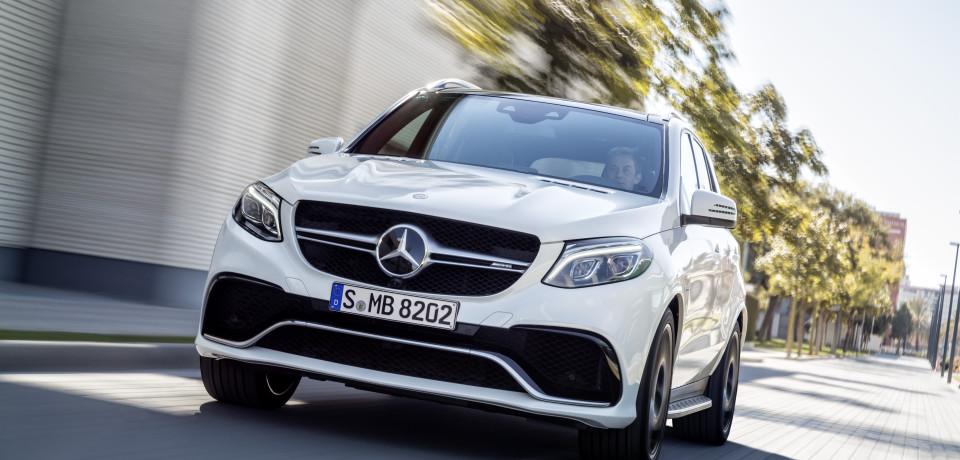 Mercedes SUV Attack