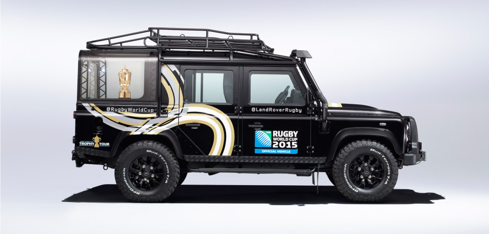 Land Rover incontra il rugby