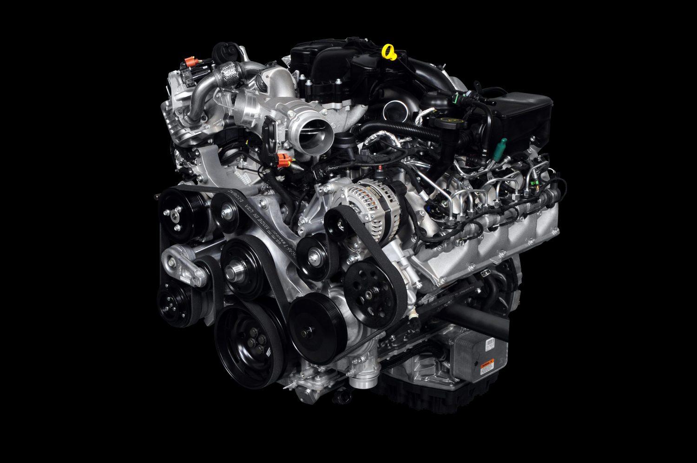 6.7-liter Power Stroke® V8 Turbocharged Diesel Engine