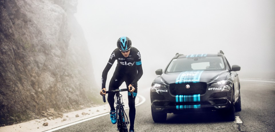 Jaguar al Tour de France