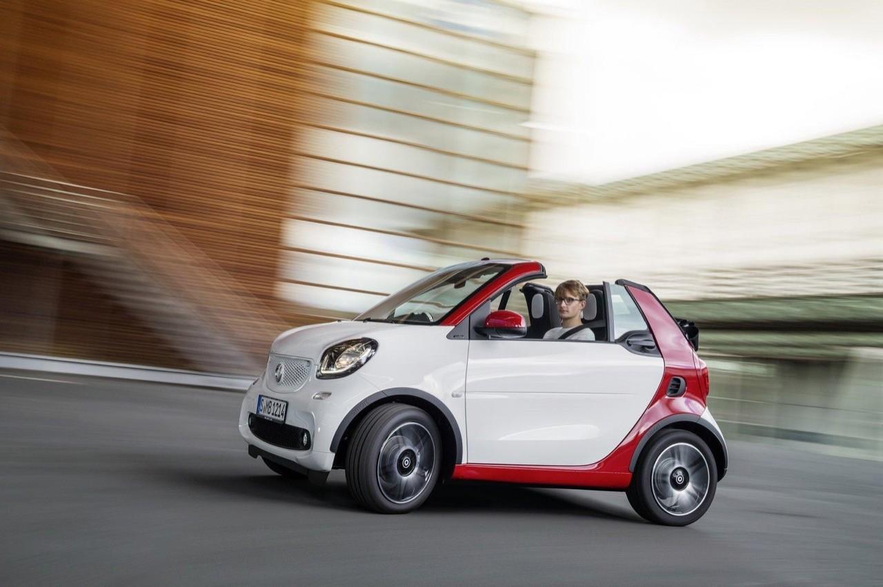Nuova Smart Fortwo cabrio: debutto a Francoforte