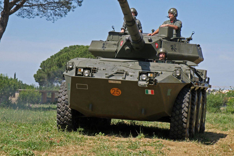I veicoli su ruote della Cavalleria italiana