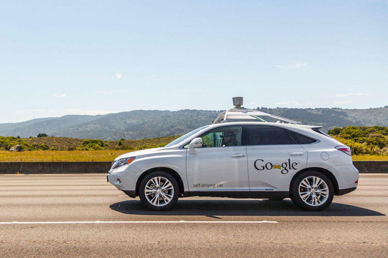 Percorso a ostacoli per la Google Car