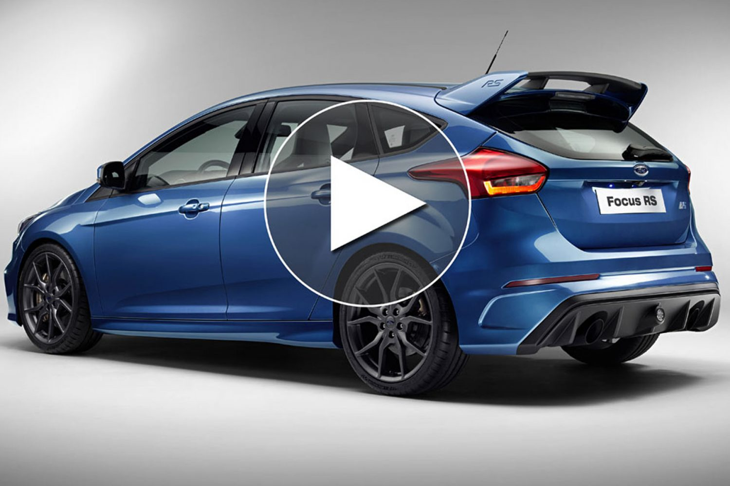2016 Ford Focus RS: in pista a Dearborn