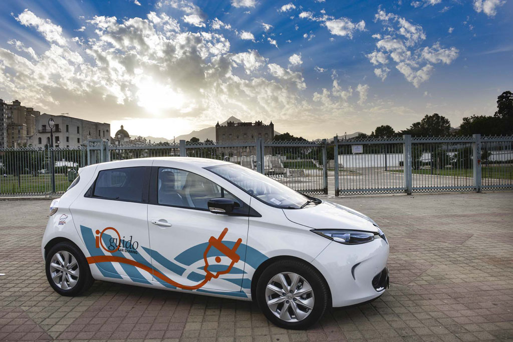 A palermo il car sharing elettrico for Pulizie domestiche palermo