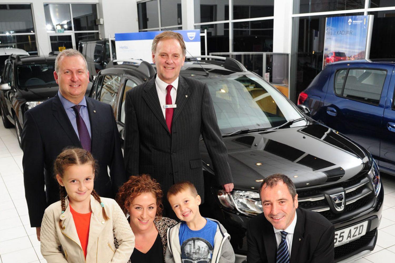 Dacia Duster, che record