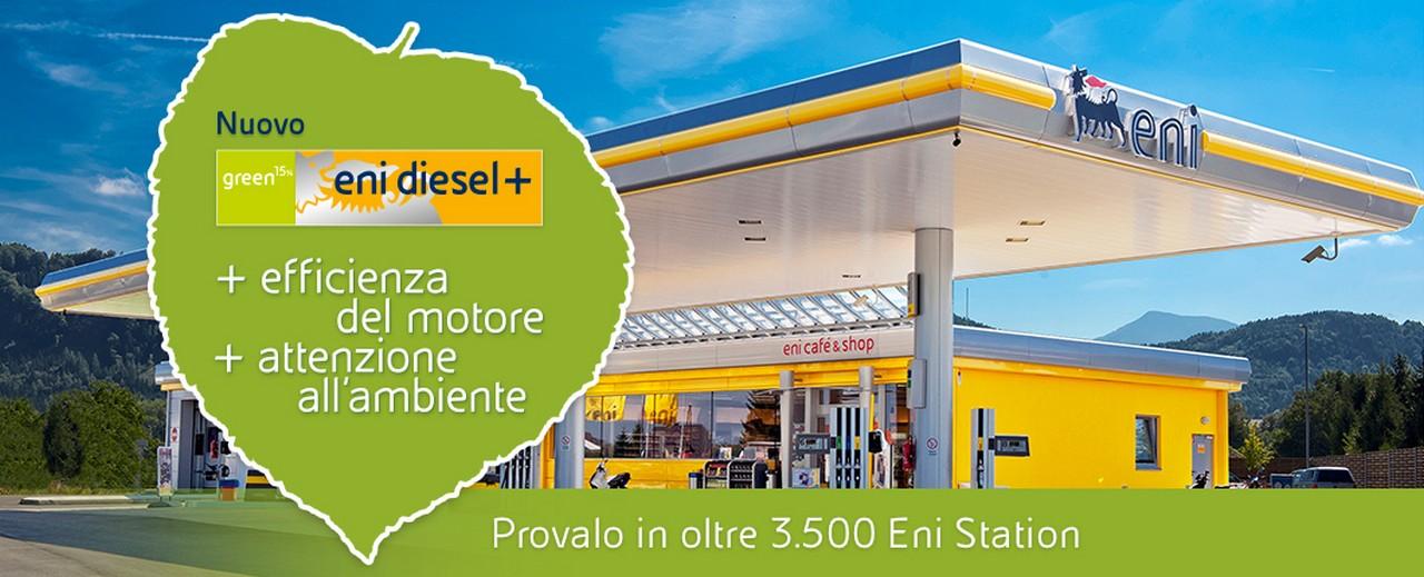 Eni Diesel + : l'ambiente ringrazia