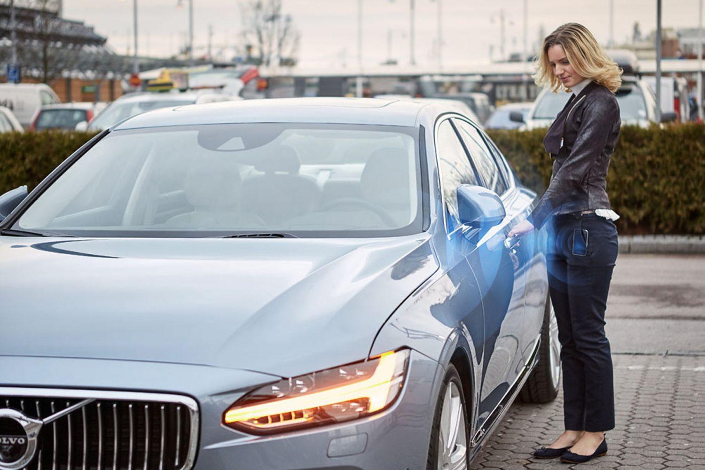 Volvo, la prima auto senza chiave