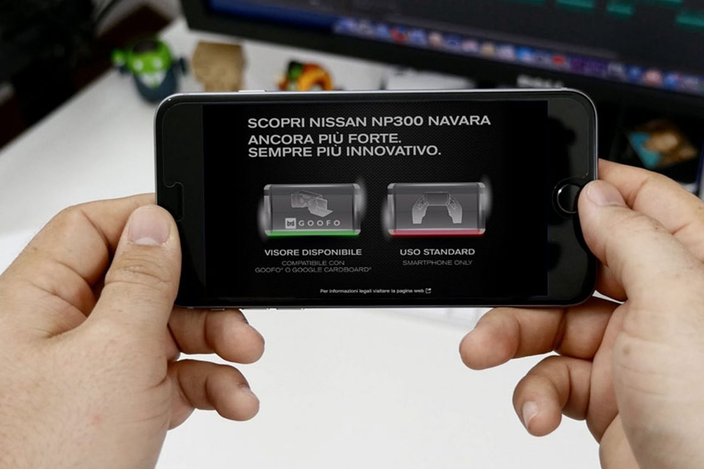 Nissan Navara, esperienza in realtà virtuale