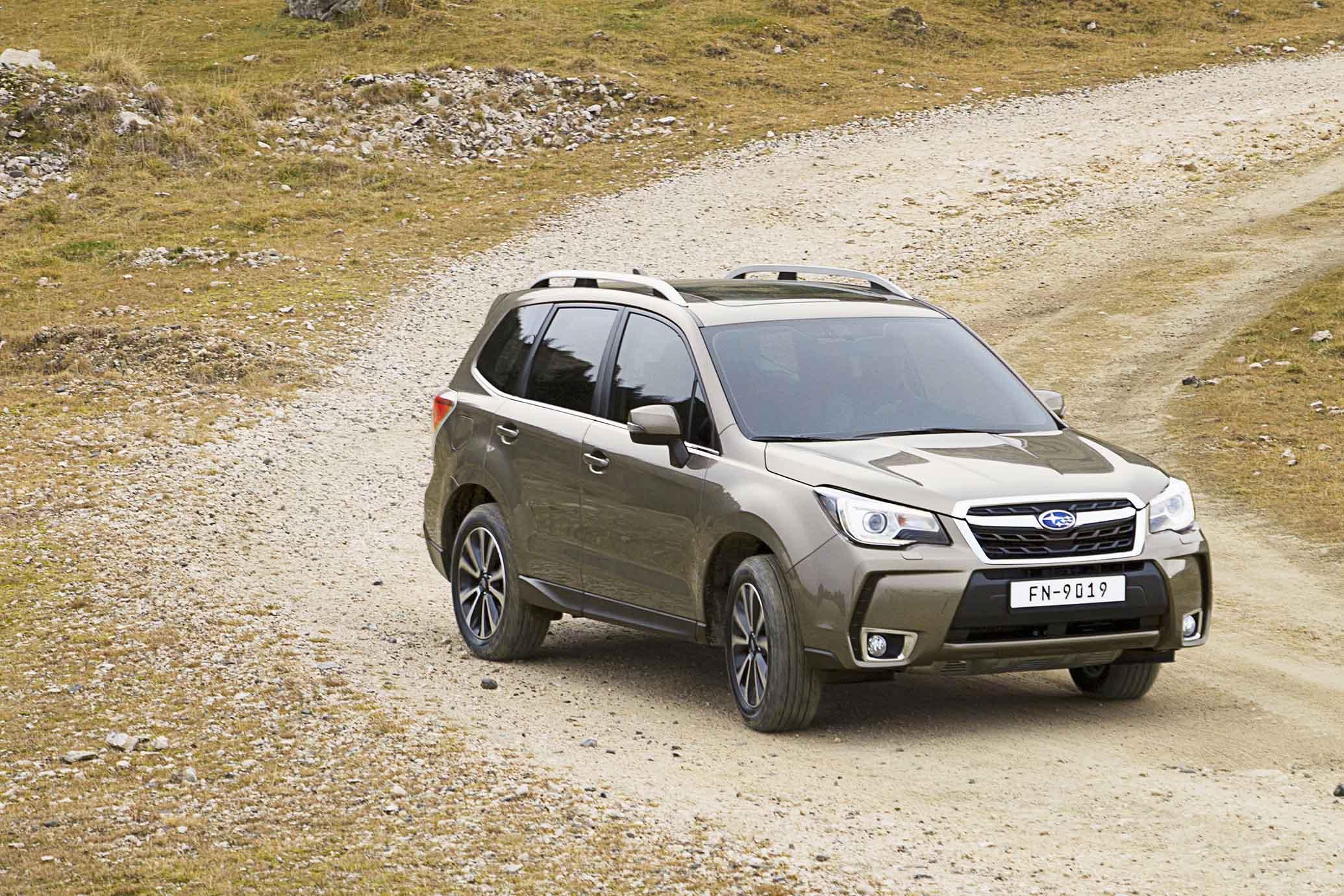 Subaru: nel segno del SUV