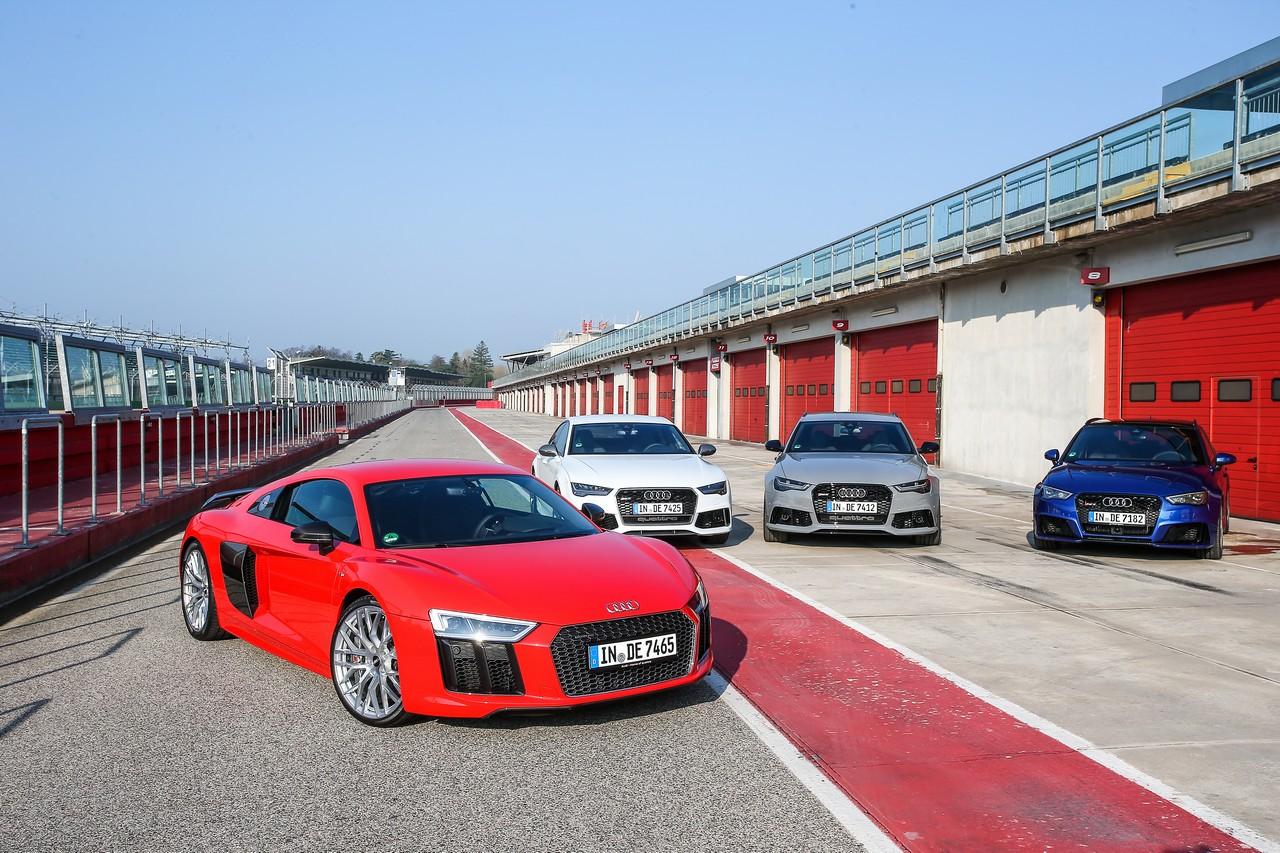 Audi Sport ad Imola: la nascita di un Brand