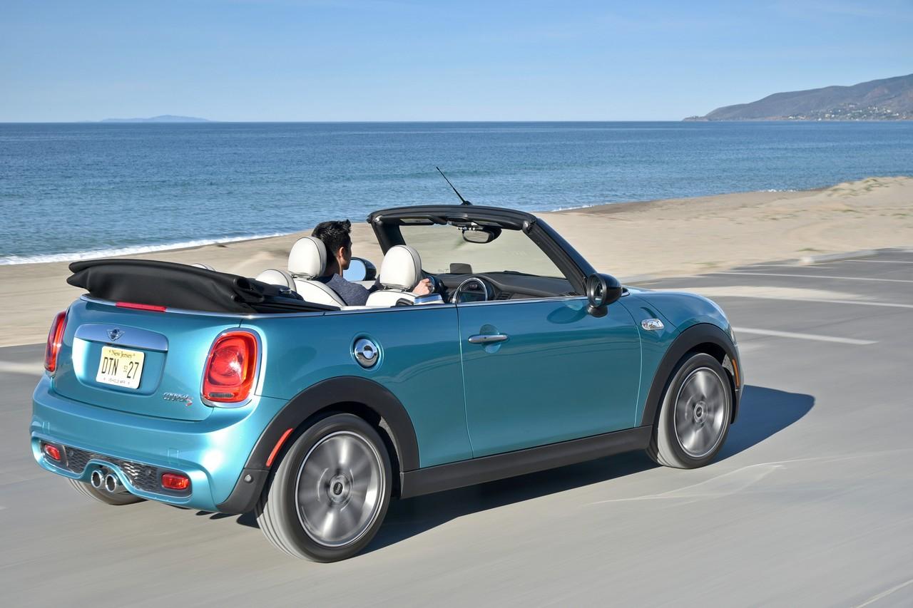 nuova mini cabrio stay open. Black Bedroom Furniture Sets. Home Design Ideas