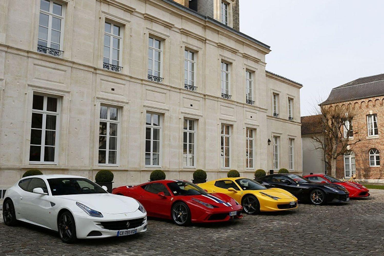 Ferrari e Veuve Clicquot Ponsardin