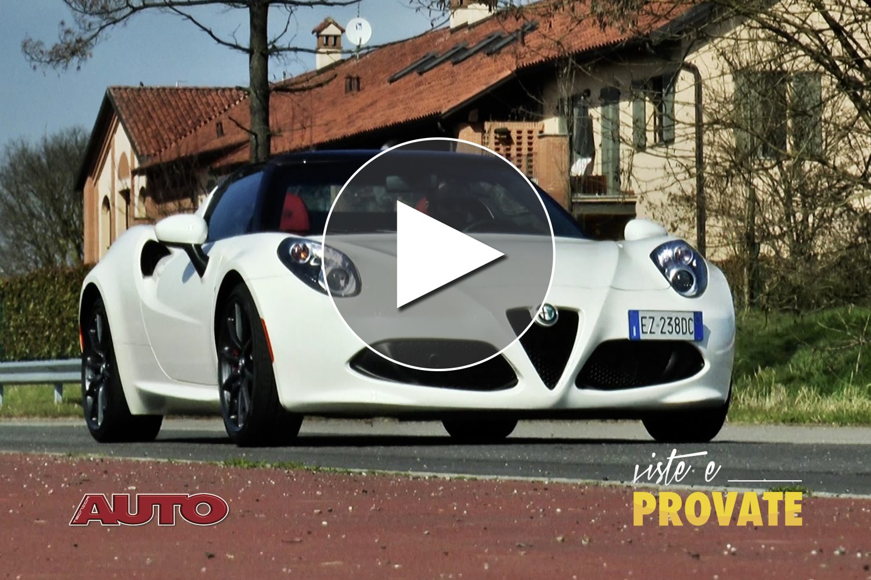 Alfa Romeo 4C Spider, forza leggera