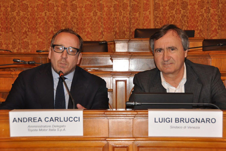 Toyota e comune di Venezia, accordo sulla mobilità green