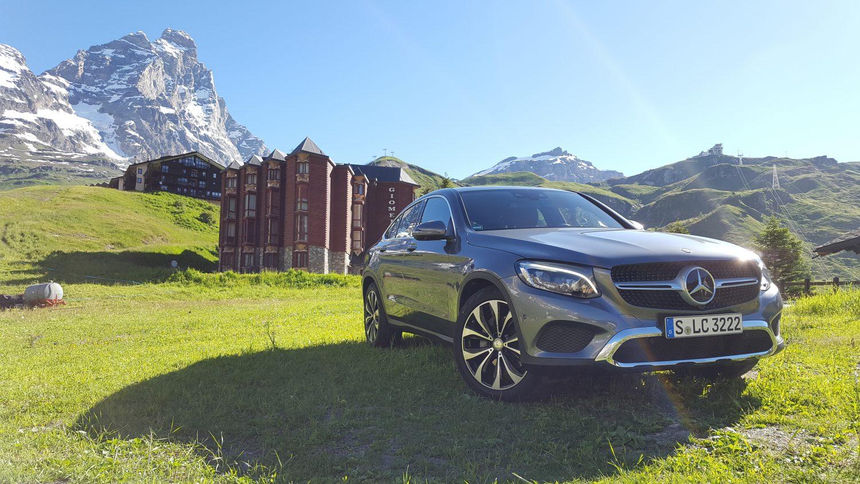 Mercedes GLC Coupé: l'anti BMW X4