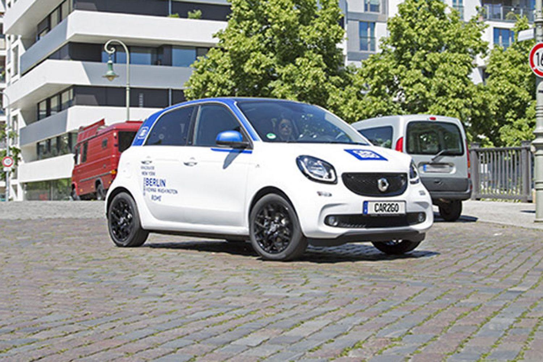 Car2go, arriva la smart Forfour