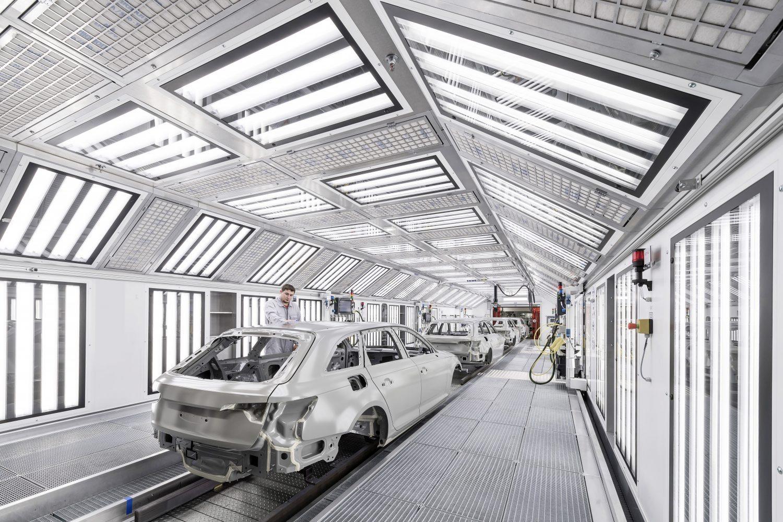 Audi e la verniciatura perfetta