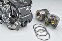 Pistoni e fasce per motore BMW quadriturbo