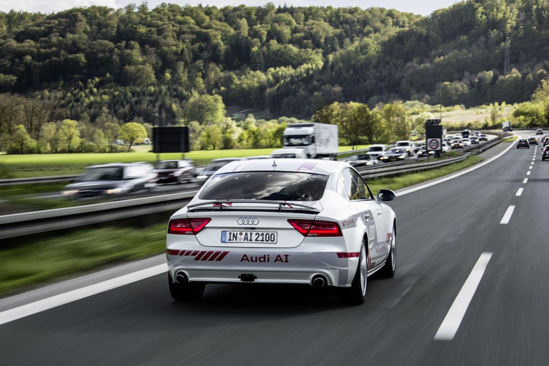 Il Digital Motorway Test di Audi