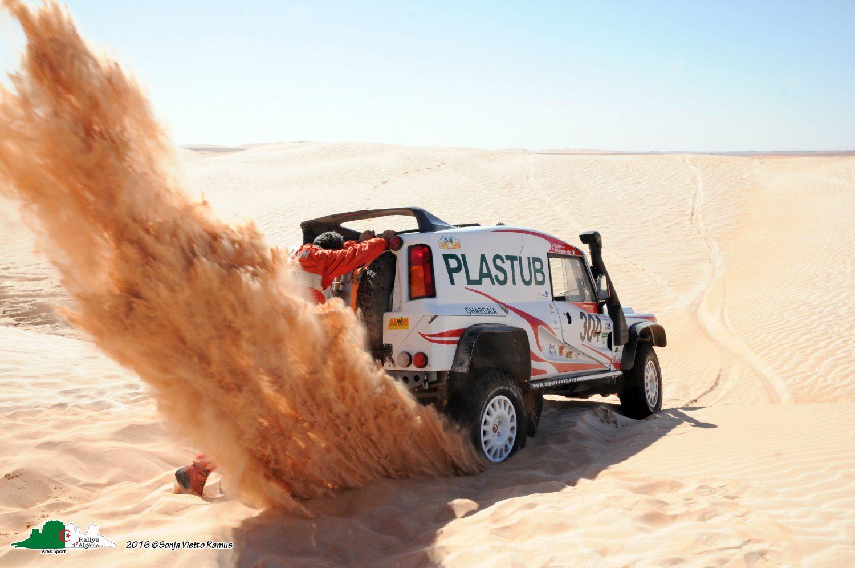 Rallye d'Algérie 2016: i vincitori