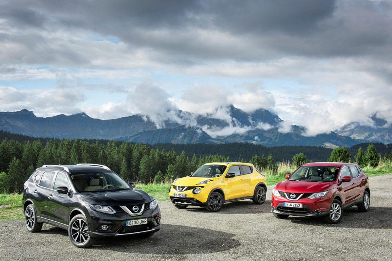 Crossover Nissan: un'offensiva senza eguali