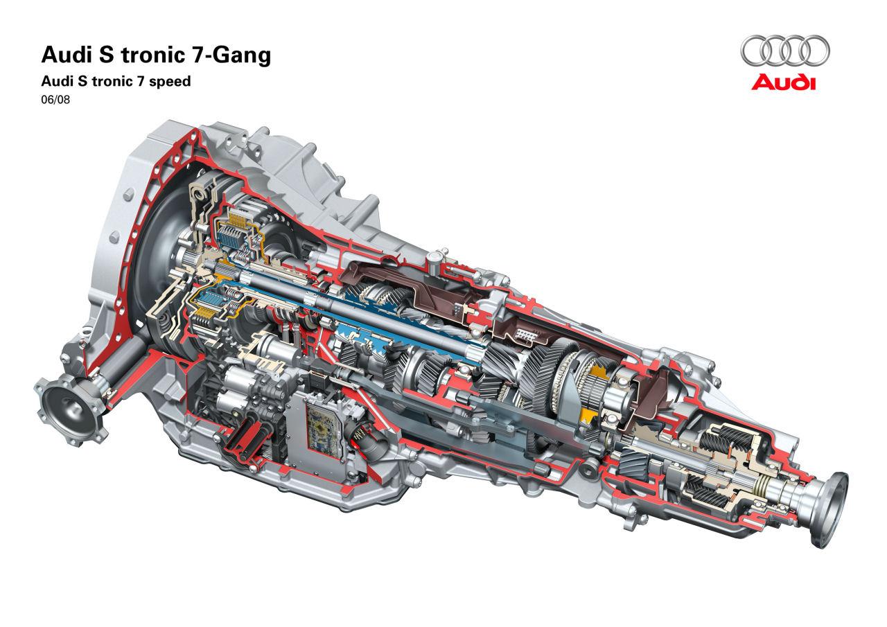 Il cambio Audi S tronic a sette rapporti