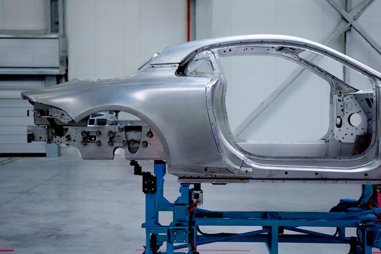 L'Alpine con l'anima di alluminio