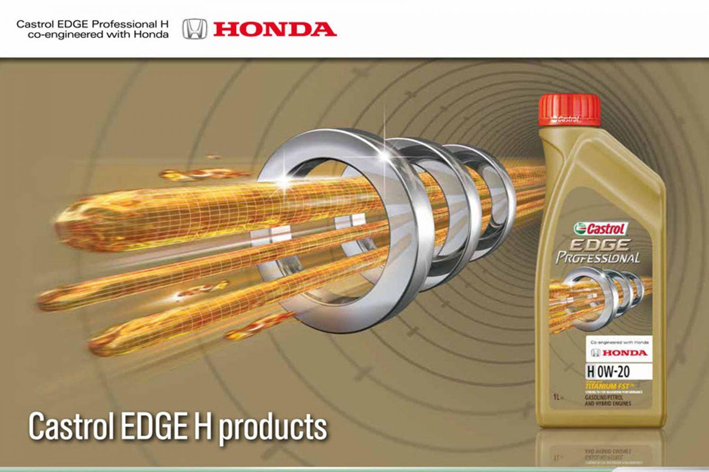 Lubrificanti Castrol consigliati da Honda Motor Europe
