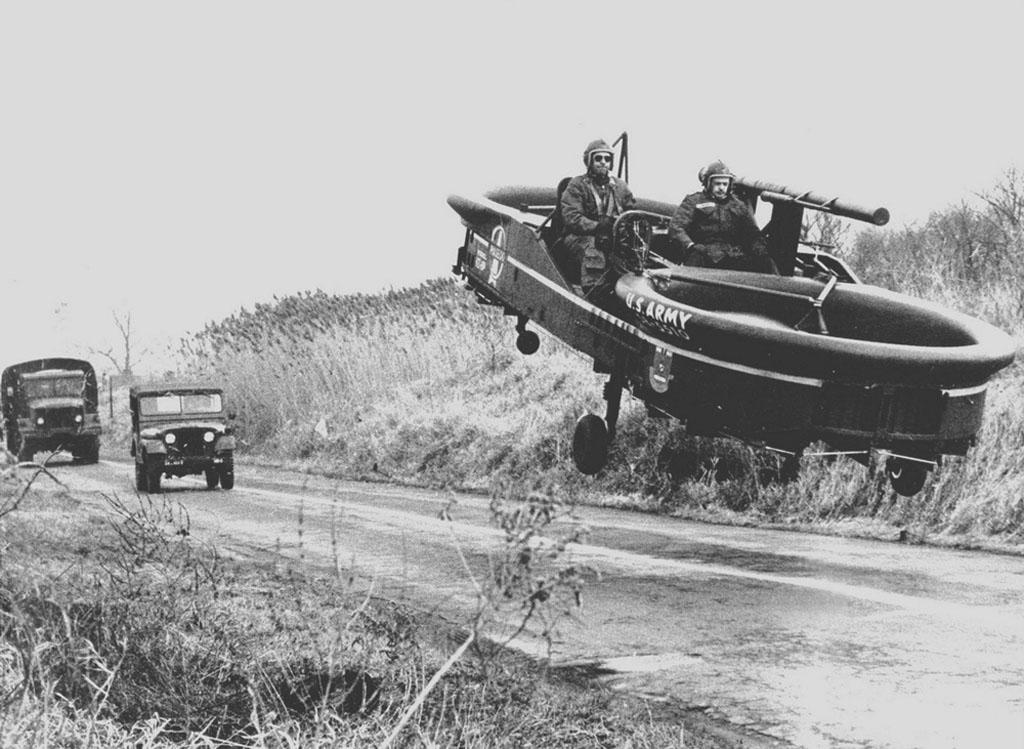 Il mito della jeep volante