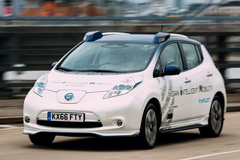 Nissan e la guida autonoma in Europa