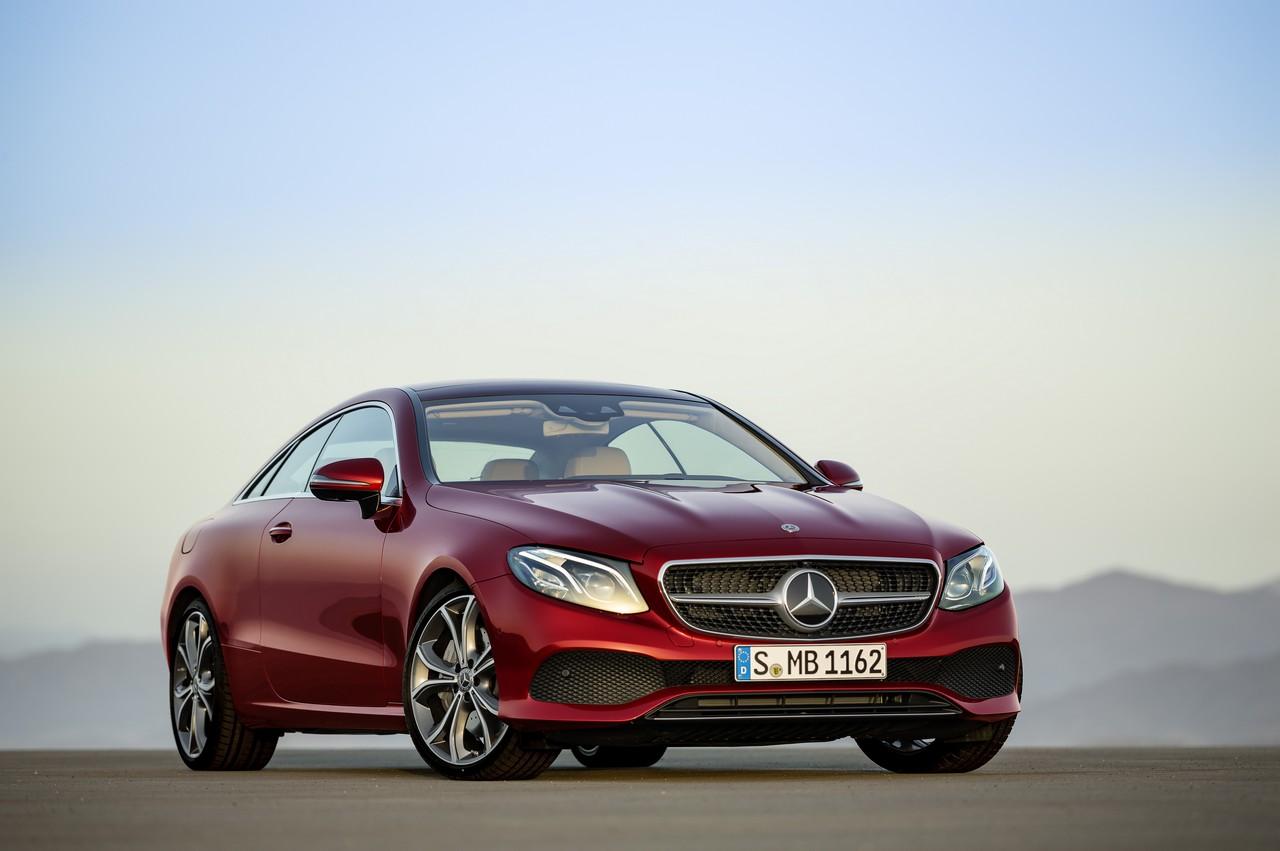 Mercedes Classe E Coupé: stilisticamente sopraffina