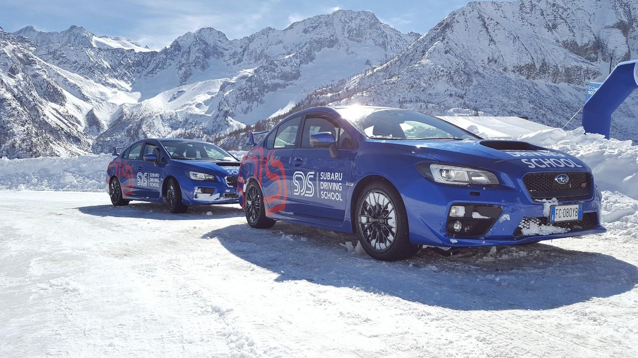 Subaru Snow Experience: neve e ghiaccio non vi temo