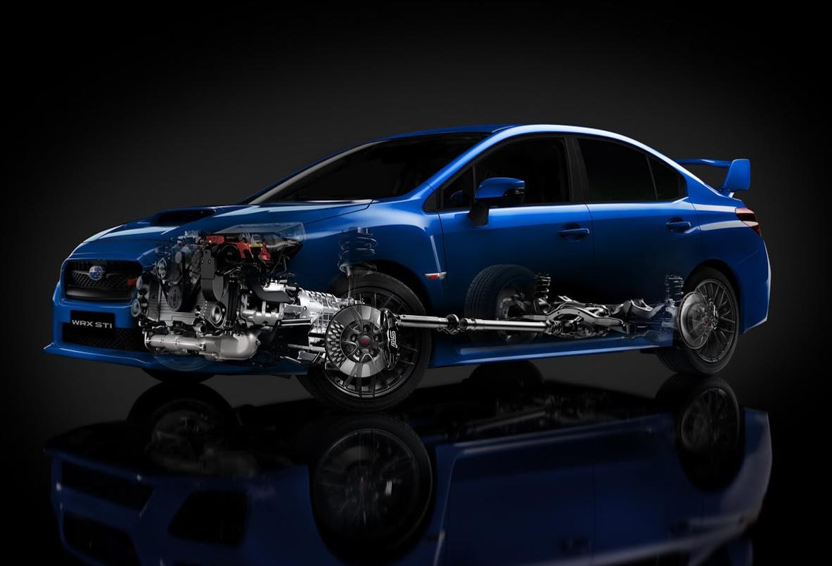 Subaru Symmetrical AWD – Informazioni tecniche