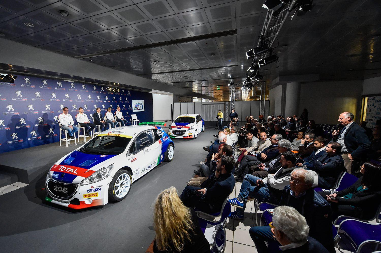 Peugeot Sport 2017: il leone va a caccia