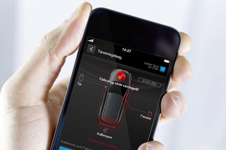 Mercedes, C come connettività