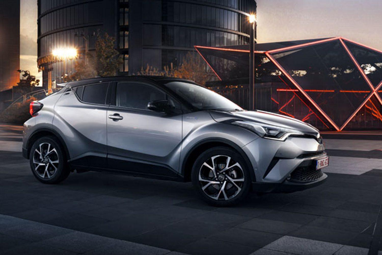 Toyota C-HR a cinque stelle