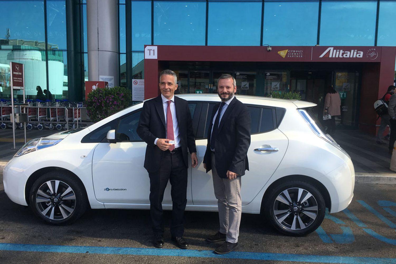 Nissan Leaf al servizio del sociale