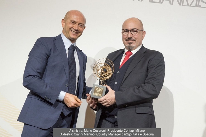car2go riceve l'Italian Mission Award 2017