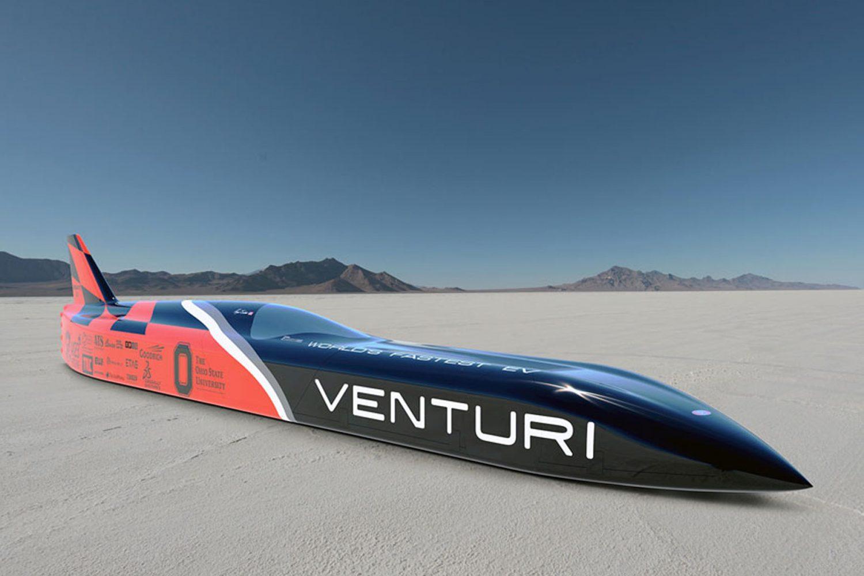Venturi, più di 500 km/h con un'auto elettrica
