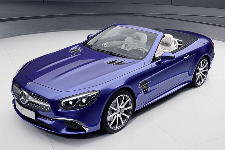 Mercedes, serie speciali SL e SLC